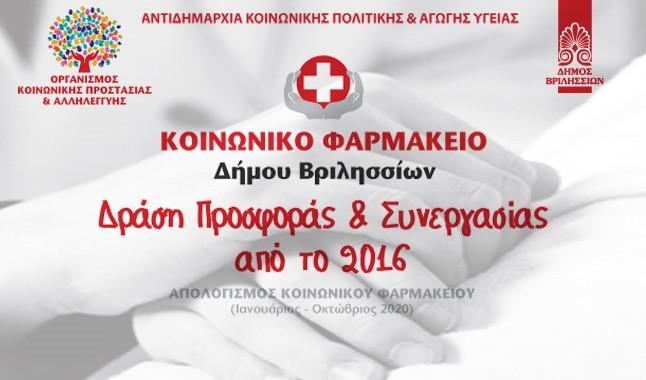 Κοινωνικό Φαρμακείο Δήμου Βριλησσίων, Δράση Προσφοράς και Συνεργασίας